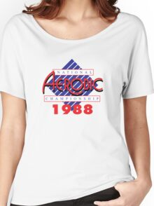 1988 National Aerobic Championship Women's Relaxed Fit T-Shirt