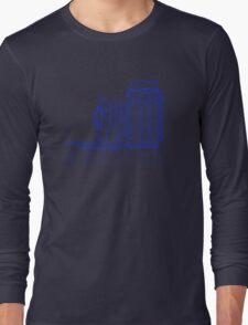 Vintage Photography - Graflex (Version 2) - Blue Long Sleeve T-Shirt