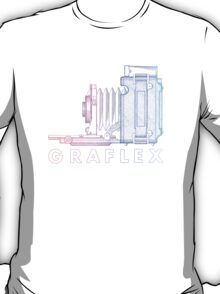 Vintage Photography - Graflex (Version 2) - Multi-Colour T-Shirt