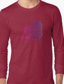 Vintage Photography - Graflex (Version 2) - Multi-Colour Long Sleeve T-Shirt