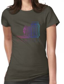 Vintage Photography - Graflex (Version 2) - Multi-Colour Womens Fitted T-Shirt