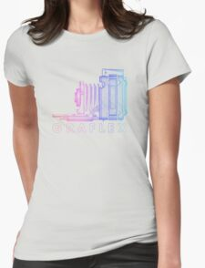 Vintage Photography - Graflex (Version 2) - Multi-Colour Womens Fitted T-Shirt