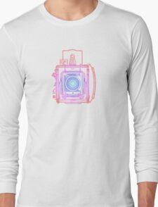 Vintage Photography - Graflex (Multi-colour) Long Sleeve T-Shirt