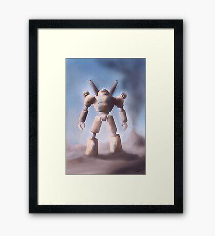 Mecha Framed Print