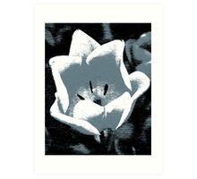 flower edited Art Print