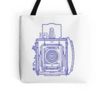 Vintage Photography - Graflex - Blue Tote Bag