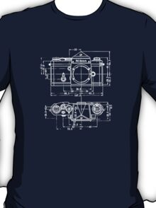 Vintage Photography: Nikon Blueprint T-Shirt