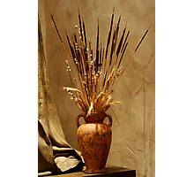 Autumn Vase Photographic Print