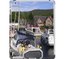 Fort Augustus, The Caledonian Canal iPad Case/Skin