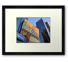 The Colors and Shapes of New York City Framed Print
