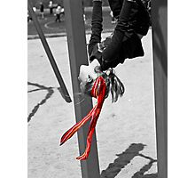 My Red Ribbon Photographic Print