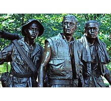 Vietnam Veterans Memorial 7 Photographic Print