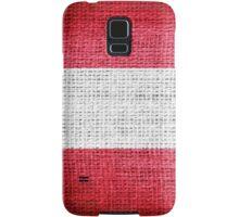Austria Flag Samsung Galaxy Case/Skin