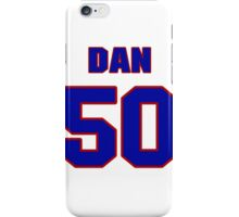 National football player Dan Neal jersey 50 iPhone Case/Skin