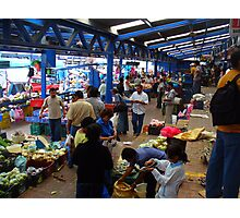 Just another Pic of the Cartago Market Photographic Print