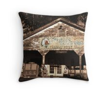 Raw Bar Throw Pillow