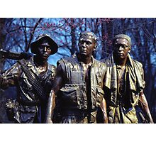 Vietnam Veterans Memorial 9 Photographic Print