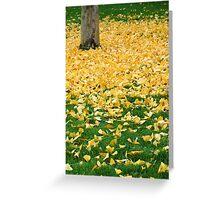 Golden Shower Greeting Card
