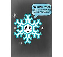 Special Snowflake Photographic Print