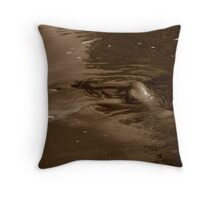 Shh. Throw Pillow