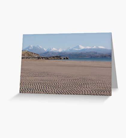 Torridon from Big Sand Greeting Card