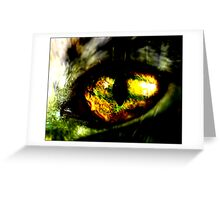 countenance Greeting Card