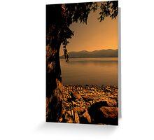 """The Hudson River"" Greeting Card"