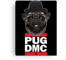 PUG DMC Canvas Print