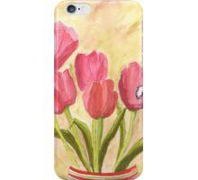 Christmas Tulips iPhone Case/Skin