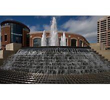 Rose Theatre Fountain Photographic Print
