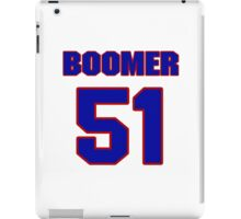 National football player Boomer Grigsby jersey 51 iPad Case/Skin