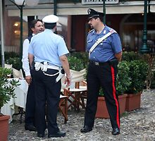 Cops & a Waiter by phil decocco