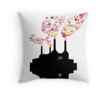 Battersea Flower Station Throw Pillow