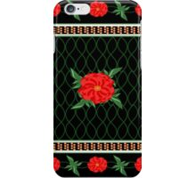 Red Poppy Chinoiserie iPhone Case/Skin