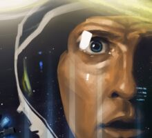 Interstellar Painting Sticker