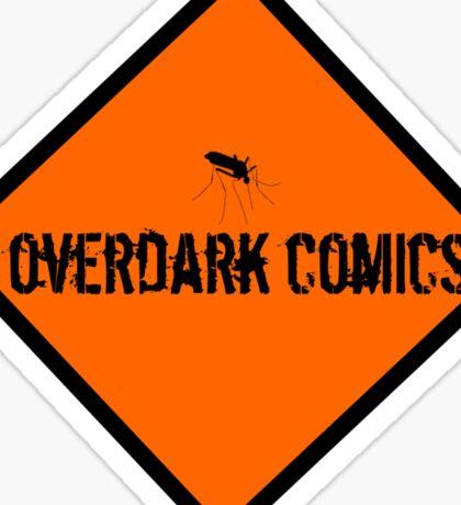 OverDark Comics Hazard Logo Sticker