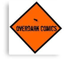OverDark Comics Hazard Logo Canvas Print