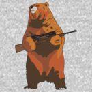 GunBear by sarcastro
