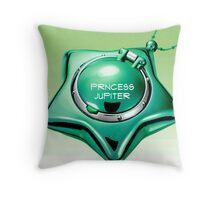 princess jupiter sailor jupiter star locket Throw Pillow