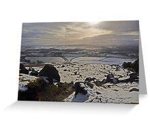 Embsay Moor Reservoir Greeting Card