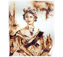 Vegemite Queen  Poster