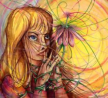 Magic Flower Girl by Steven Novak