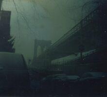 Brooklyn Bridge Dry Plate Tintype Photograph by ShellyKay
