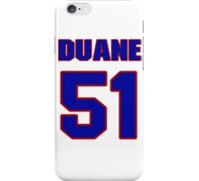 National football player Duane Benson jersey 51 iPhone Case/Skin