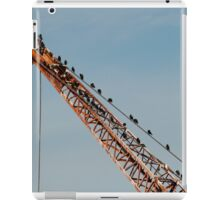 Birds in industry iPad Case/Skin