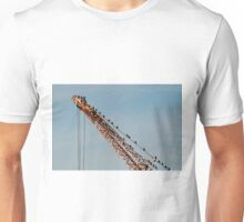 Birds in industry Unisex T-Shirt