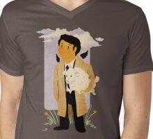 Castiel - Rounding Up the Stray Mens V-Neck T-Shirt