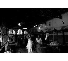 Muslim butchers in Pune, India Photographic Print