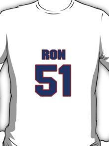 National football player Ron Childs jersey 51 T-Shirt