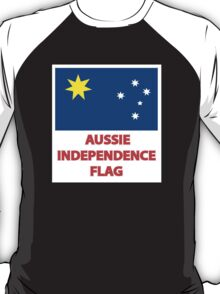 Aussie Independence Flag T-Shirt